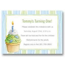 birthday invitations baby cachet