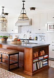 kitchen with black island and white cabinets 22 contrasting kitchen island ideas for a stand out space