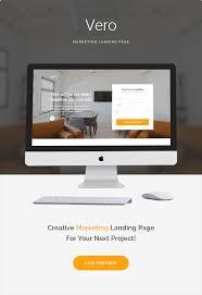 vero marketing landing page html template by zytheme themeforest