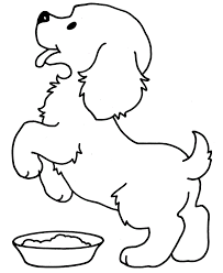 Small Dog Second Leg Lift Coloring Pages For Kids Bkx Printable Small Coloring Pages