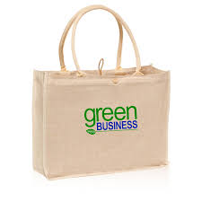 promotional button and loop jute tote bags tot27 discountmugs