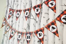 lumberjack themed birthday party u2013 vintagemeetsglam