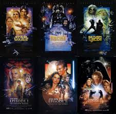 where did george lucas learn to count star wars movies in order
