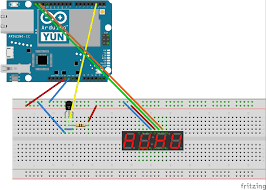 how to get temperature from ds18b20 sensor and display it on an