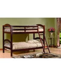 Cherry Bunk Bed Amazing Deal On Jaren Bunk Bed Color Cherry