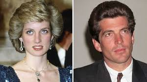 jfk jr secretly met princess diana they were two of the most