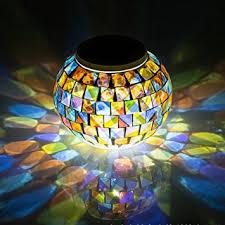 Garden Table Decor Amazon Com Christmas Solar Garden Table Lights Surlight Color