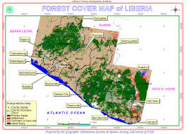 Liberia Map Climate Change Effects In Liberia