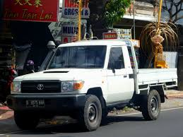 land cruiser pickup file toyota land cruiser pickup j70 depan denpasar jpg
