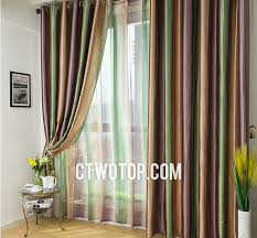 Yellow And Purple Curtains And Purple Luxury Unique Beautiful Striped Curtains