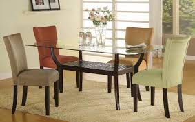powell furniture dining room blue parson chair 14d2023bl