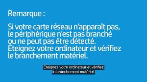Problème Carte Réseau Wifi Dans Réinstallation Du Pilote De Carte Réseau Sans Fil Via Le