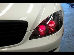 2010 mercedes s550 lights intothecar customized s550 headlight
