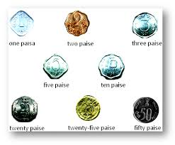 money coins currency notes rupees and paise