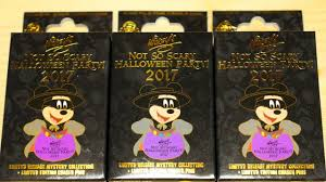 mickey u0027s not so scary halloween party 2017 mystery pin collection