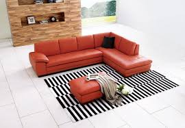 amazon com j u0026m furniture 625 pumpkin colored italian leather