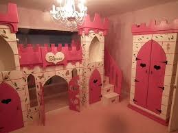 Princess Castle Bunk Bed Bedroom Fancy Pink Princess Castle Bed With Slide By Maxtrix