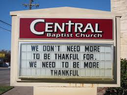 we don t need more to be thankful for we need to be more thankful