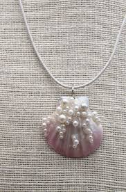 shell necklace with pearl images 2634 best jewelry inspirations pearls images jpg