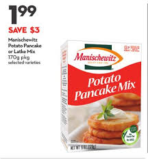manischewitz latke mix jemima pancake mix 905 g or on sale salewhale ca