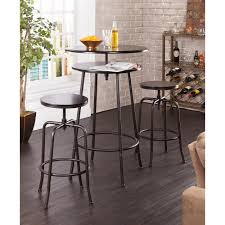 Pub Tables For Kitchen by Amazon Com Holly U0026 Martin Kalomar 3pc Adjustable Pub Table