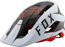 motocross helmet mohawk fox metah flow mtb helmet helmets bicycle white black red fox