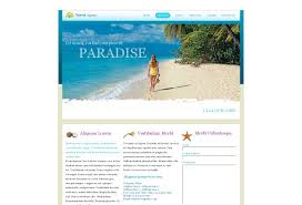 travel agency web template pack from serif com