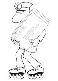 coloring postman pat coloring pages 21 clip art library