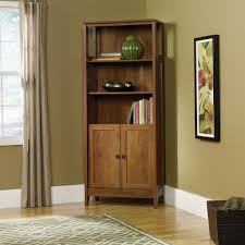 Bookcase With Doors Plans by Sauder August Hill Library Bookcase 409749