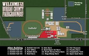Illinois State Fairgrounds Map by Thursday Fair Schedule August 23rd 2018 Bureau County