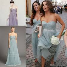 cheap bridesmaid dresses longoria dusty blue strapless boho cheap bridesmaid
