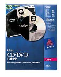 avery design pro 5 avery clear cd labels for laser printers 40 disc