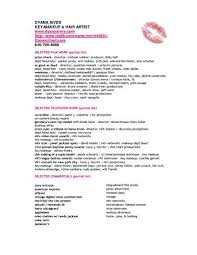 Freelance Makeup Artist Resume Sample by Beginner Freelance Makeup Artist Resume Saubhaya Makeup