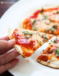 Toaster Oven Pizza Skillet Tortilla Pizza Recipe Simplyrecipes Com