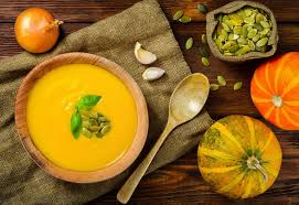 thanksgiving delights butternut squash soup with apples and