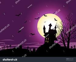 background halloween image halloween background illustration spooky haunted house stock