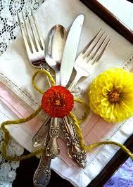 silverware rental vintage flatware southern vintage table