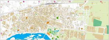 Toledo Map Vectorized Maps Digital Maps Increase Search Engine Traffic