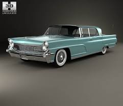 lincoln continental mark iv 1959 3d model hum3d