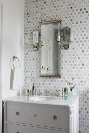 mosaic tile powder room ideas modern home designs