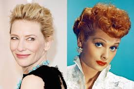 pictures of lucille ball cate blanchett to play lucille ball in biopic written by aaron