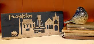 Home Decor Franklin Tn by Franklin Tn Skyline Sign U2014 Lenny U0026 Jenny Designs