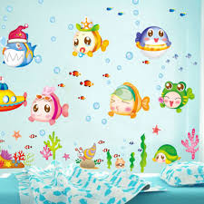 diy cartoon kids child room decal wall sticke cartoon cute