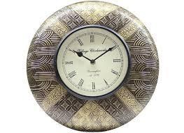 Decorative Metal Wall Clocks Stylish Wall Clock Online Buy Designer Wall Clocks At Best Prices