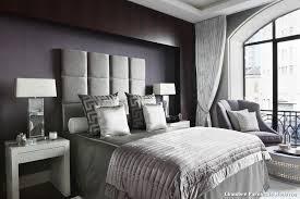 chambre parentale grise dressing moderne chambre des parent futuriste c mires