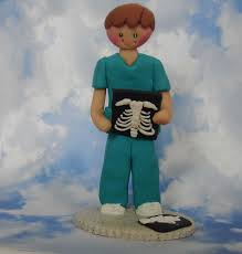 radiography tech radiologist cake topper doctor nurse physician