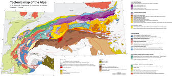 The Alps On World Map by Tectonics Group