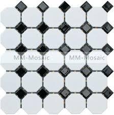 black and white tile garage floor tilesfloor patterns ceramic