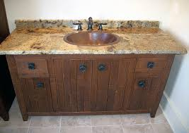 Bathroom Vanity Counter Top Exles Of The Reclaimed Wood Vanity