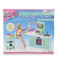 princesse cuisine princesse pour poupée meubles accessoires de cuisine